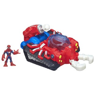 Playskool Heroes Spider-Man Web Strike Tank
