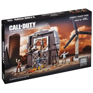 Mega Bloks Call Of Duty Zombies TranZit Farmhouse