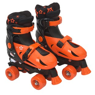 Quad Skate Orange Black Size 1-3 (UK)
