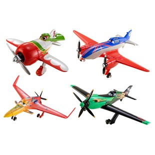 Cars Planes Diecast 4 Pack