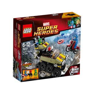 LEGO Superheroes Captain America vs Hydra 76017