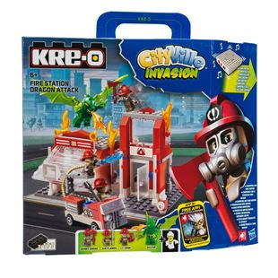 Kreo Fire Station Dragon Attack