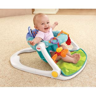 Fisher-Price Rainforest Sit-Me-Up Floor Seat–Frog