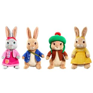 Peter Rabbit Collectable Plush - Assortment