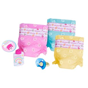 Nenuco Coloured Nappies