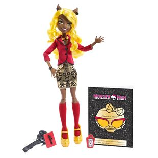 Monster High Frights Camera Action Clawdia Wolf