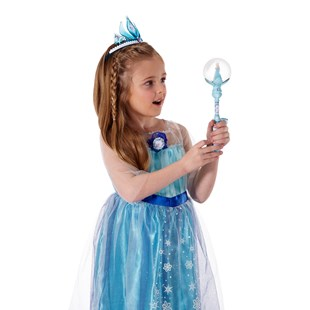 Disney Frozen Snow Globe Musical Wand