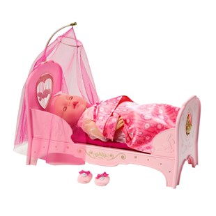 Baby Born Interactive Princess Bed