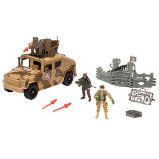 Soldier Force Humvee Playset