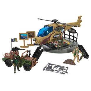 Soldier Force Heliblaster Playset
