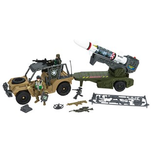 Soldier Force Mobile Rocket Launcher