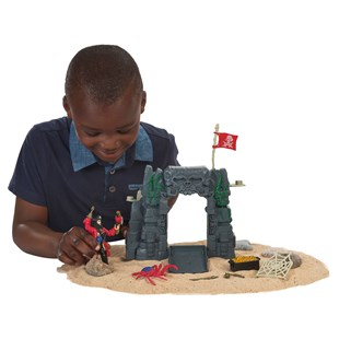 Pirate and Sea Monster Playset