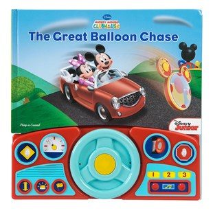 Mickey The Great Balloon Chase Steering Wheel Bk