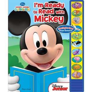 I'm Ready to Read Book with Mickey Mouse Clubhouse
