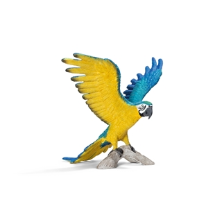 Schleich Blue-and-yellow Macaw