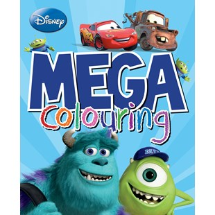 Disney Pixar Mega Colouring