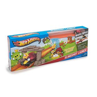 Hot Wheels AngryBirds Slingshot Launch
