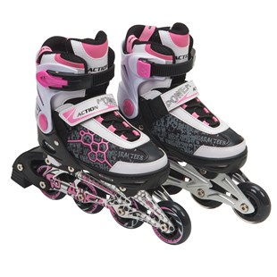 Blindside Inline Skate 7-10 (UK) Pink/White