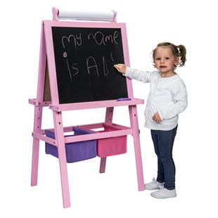 Pink Wooden Easel