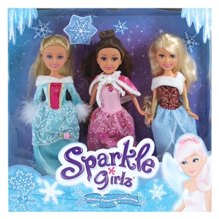Sparkle Girlz Winter Princess Collection Set