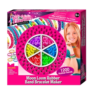 Moon Loom Rubber Band Bracelet Maker