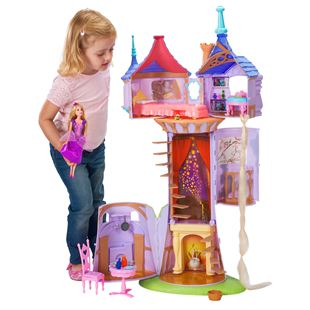 Disney's Tangled Princess Rapunzel Fairytale Tower