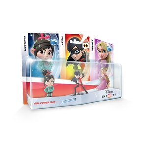 Disney Infinity Girls Triple Pack