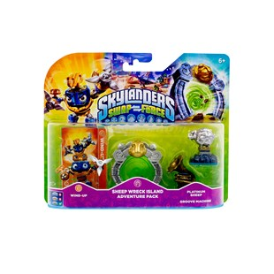 Skylanders Swap Force Sheep Wreck Isl Adventure Pk