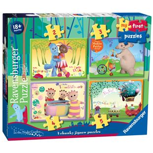 Ravensburger In The Night Garden, My First Puzzles
