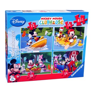 Ravensburger Disney Mickey Mouse 4 in a box Puzzles