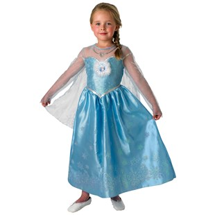 Disney Frozen Elsa Dress Up Ages 5-6 Years