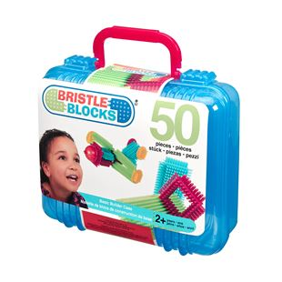 50 Piece Bristle Blocks in Case