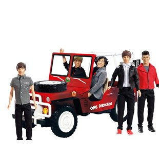 One Direction Dolls Jeep