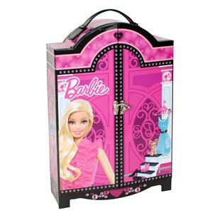Barbie Fashion Wardrobe Cosmetic Case