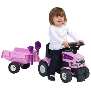 Princess Baby Sit N Ride Tractor and Trailer