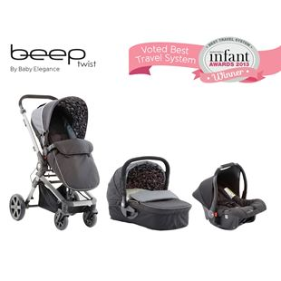 BE Beep Twist Complete TS Black/Grey