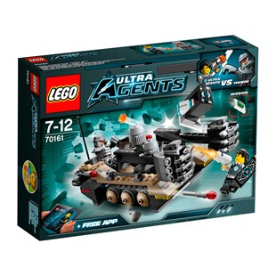 LEGO Agents Tremor Track Infiltration 70161