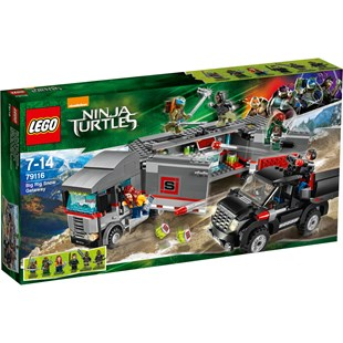 LEGO Ninja Turtles The Movie Big Rig Snow Getaway 79116