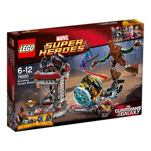 LEGO Superheroes Knowhere Escape Mission 76020