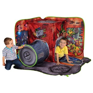 Turtles 3D PlayScape Tent