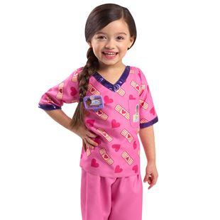 Disney Doc McStuffins Scrubs Dress Up Set