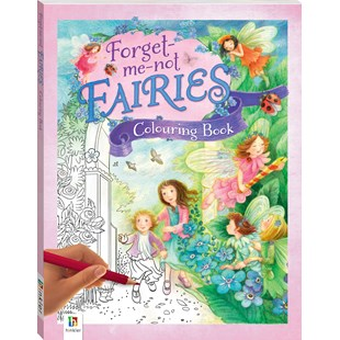 Forget me not Fairies: Jumbo Colouring Fairy Treasury