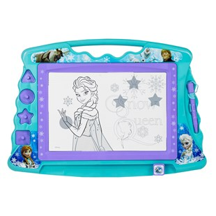 Frozen Large Magnetic Scribbler