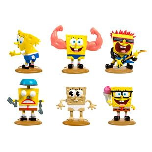 SpongeBob Deluxe Figure 6 Pack - Hall of Fame