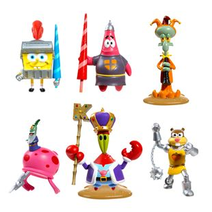 SpongeBob Deluxe Figure 6 Pack Dunces and Dragons