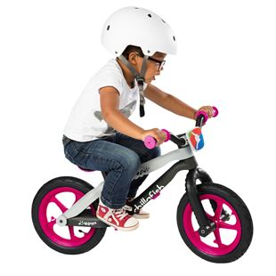 Chillafish Funky Lightweight Balance Bike Pink