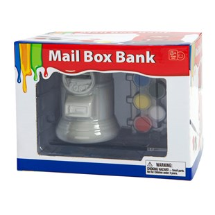 Paint Your Own Mail Box Bank
