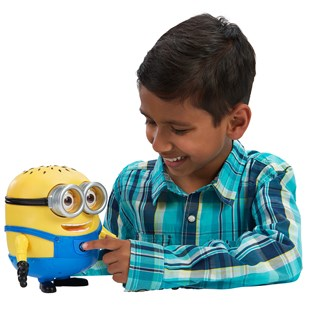 Despicable Me 17cm Talking Minion Jerry Bedtime Buddy