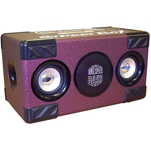 Street Box Bluetooth Speaker Purple