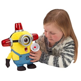 Despicable Me 25cm Bee Do Fireman Stuart Plush